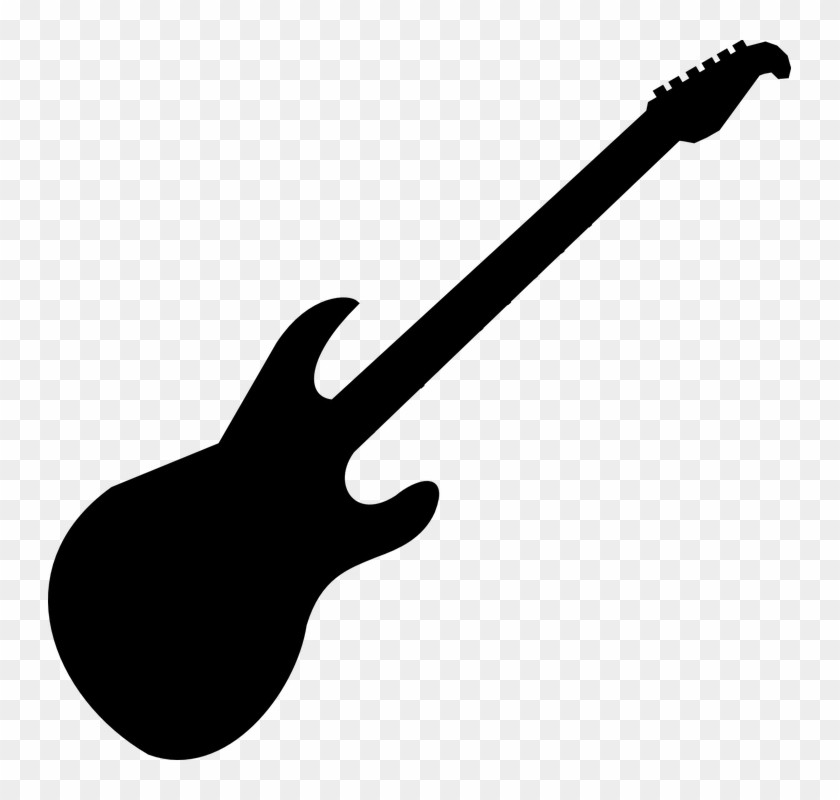 Guitar Clipart Best Clip Art Collection Advanced Black And White.