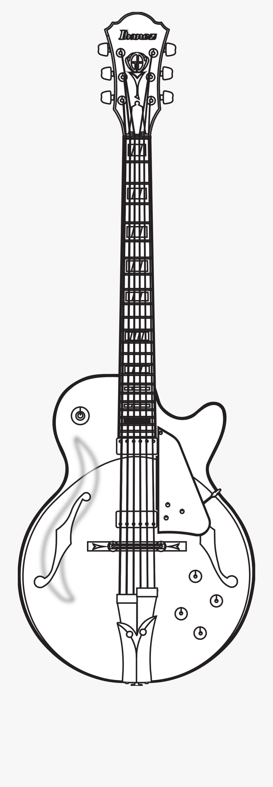 Guitar Black And White Guitar Clipart Black And White.