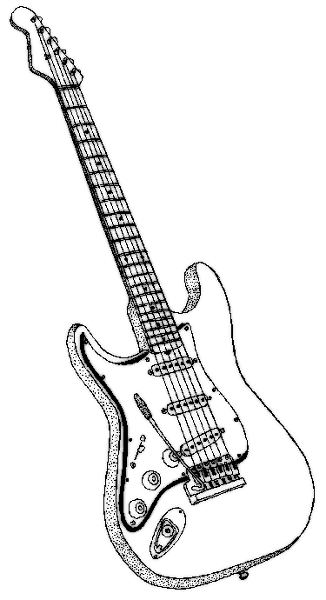 Watch more like Electric Guitar Line Clip Art.
