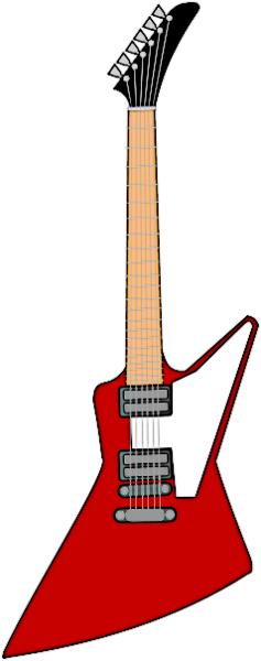 More Electric Guitars Clip Art Download.