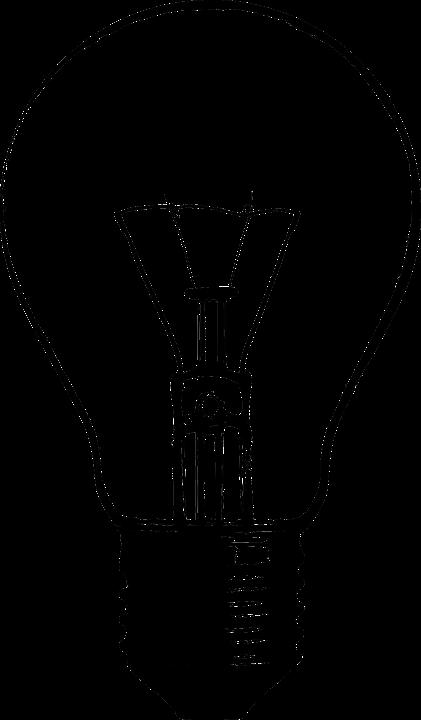 Free vector graphic: Lightbult, Electric Light, Bulb.