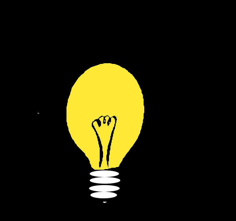 Free vector graphic: Lightbulb, Electric Light.