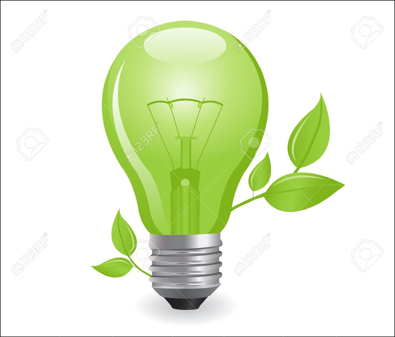 Electric Light Bulb Royalty Free Cliparts, Vectors, And Stock.