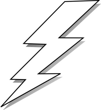Lightning bolt bolt clipart 7 lighting bolt french bathroom.