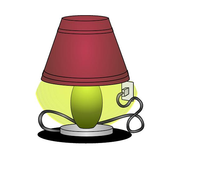 Free vector graphic: Lamp, Light, Illuminate, Energy.