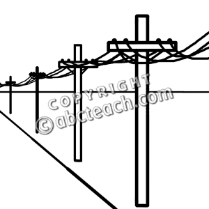 For Electric Power Lines Clipart.