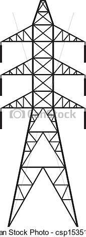 Electric Line Clipart