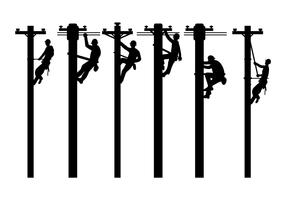 Lineman Free Vector Art.