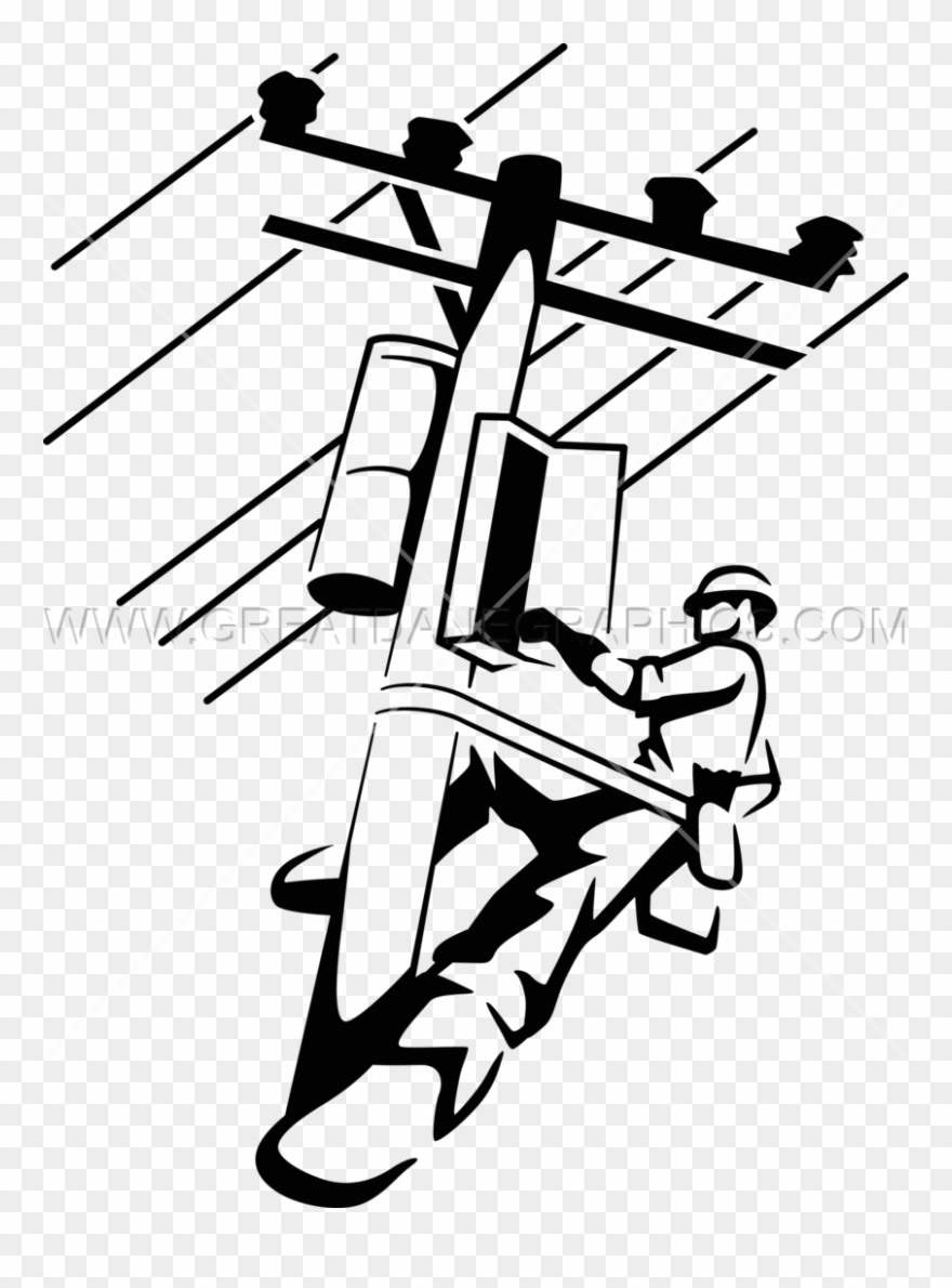 Electrical Clipart Lineman.