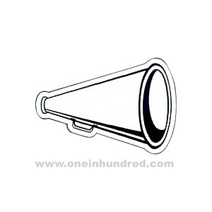 Gallery For > Black Electric Megaphone Clipart.