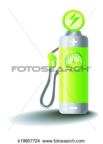 Clipart of Electric Mobility k19857724.