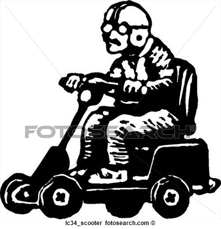 Clip Art Electric Scooter Clipart.