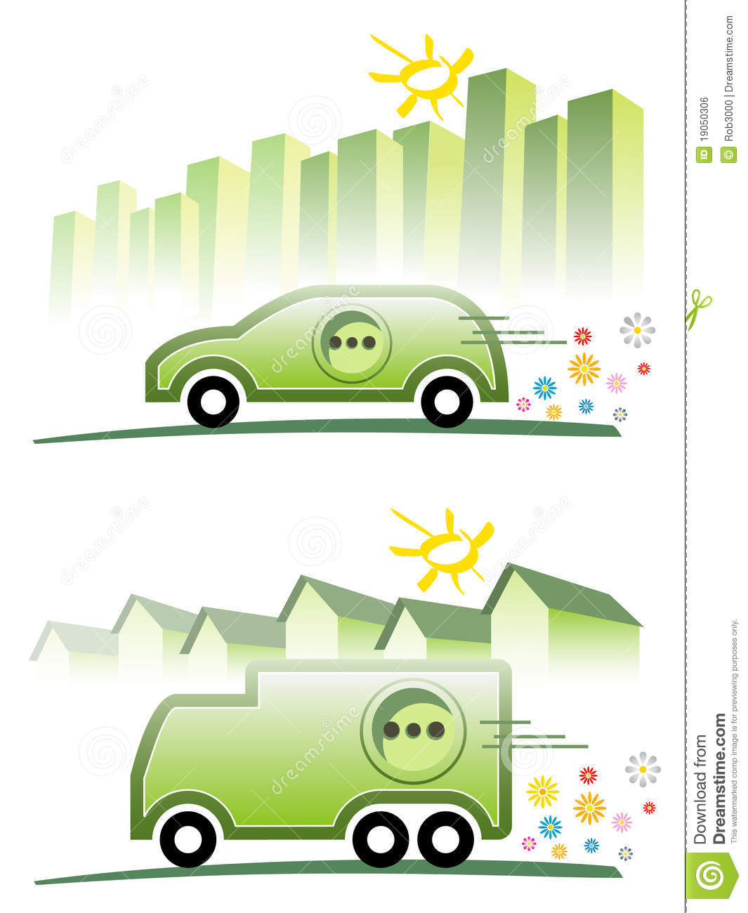 Electric Mobility Royalty Free Stock Image.