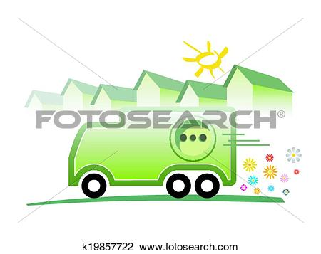 Clipart of Electric Mobility k19857722.