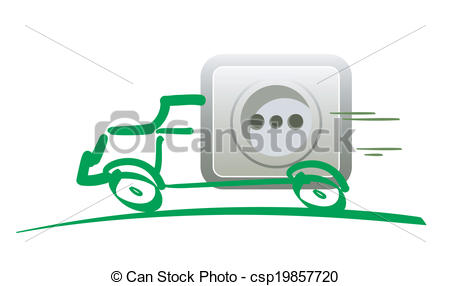 Vector Illustration of Electric Mobility.
