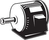 Motor Clip Art, Vector Motor.