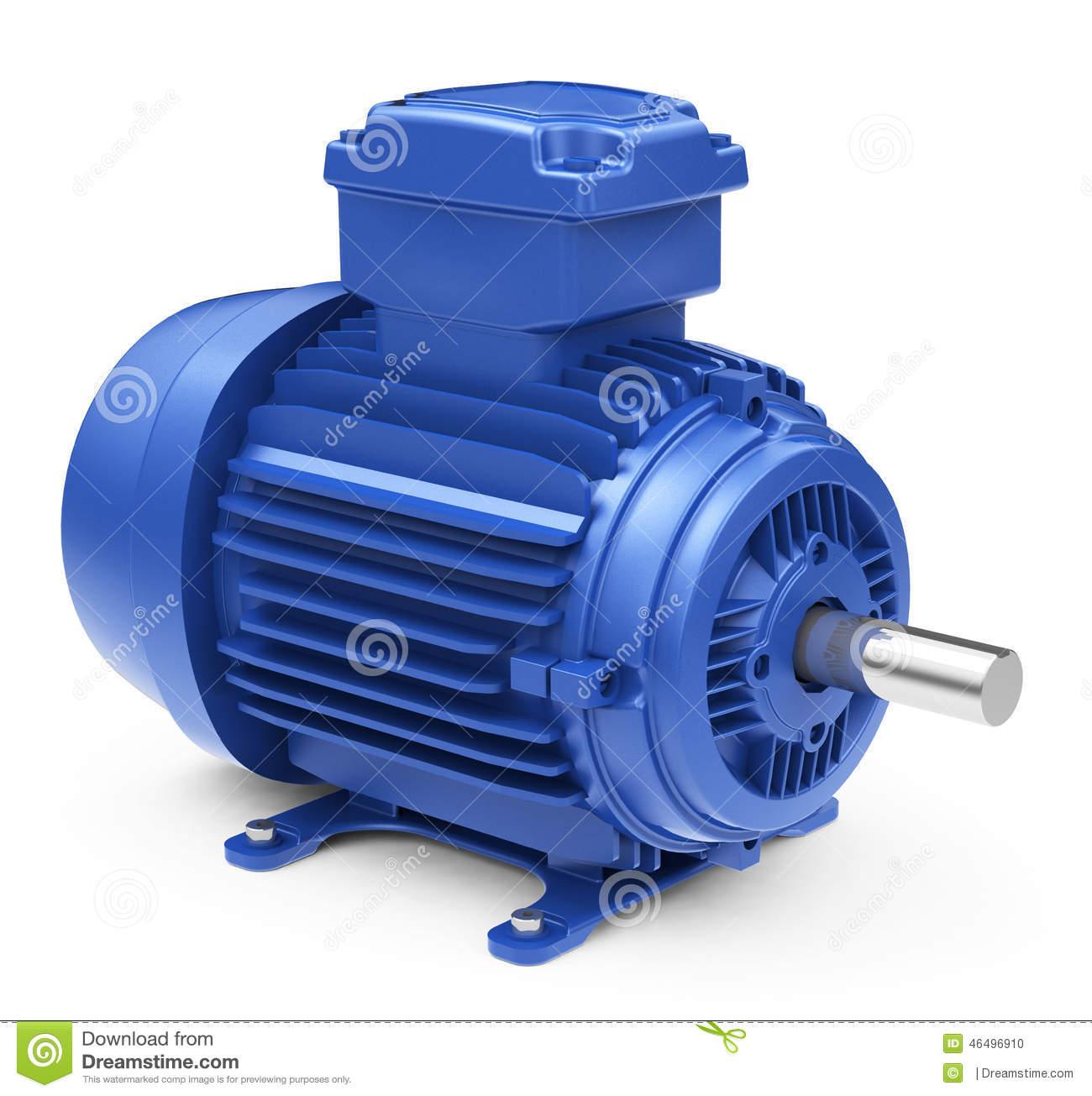 Electric Motor Rotor Stock Illustrations.