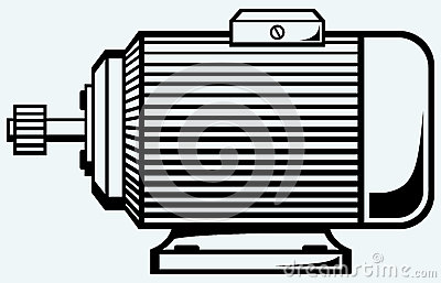 Clipart electric motor.