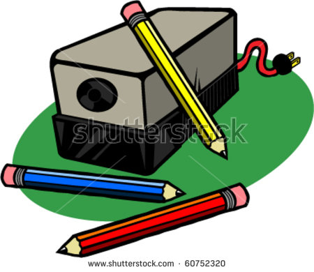 Electric Pencil Sharpener Stock Photos, Royalty.