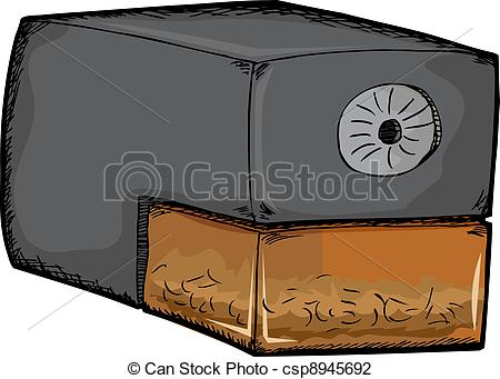 Electric Pencil Sharpener Clip Art.