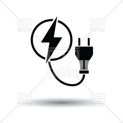 electric plug clipart #14