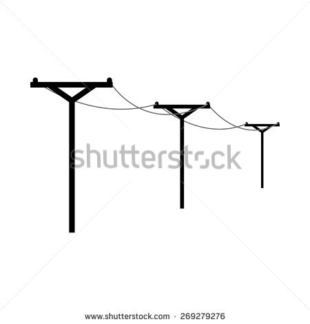 Electric Pole Stock Images, Royalty.