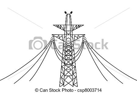 Electric pole Stock Illustration Images. 1,612 Electric pole.