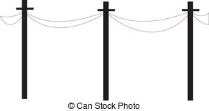 Telephone pole Vector Clip Art Illustrations. 191 Telephone pole.
