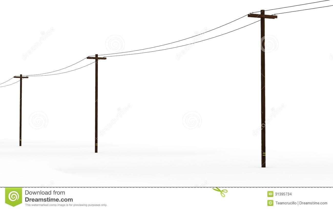 Utility Pole Clipart.