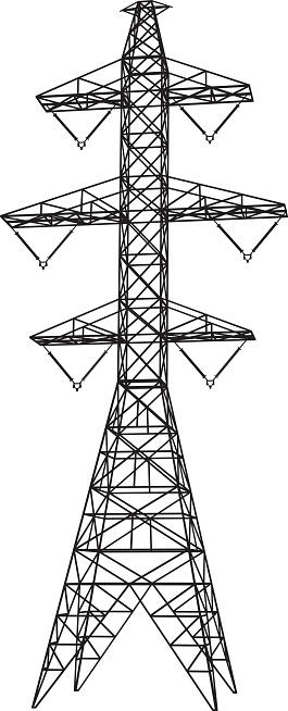 Pylon Clip Art, Vector Images & Illustrations.