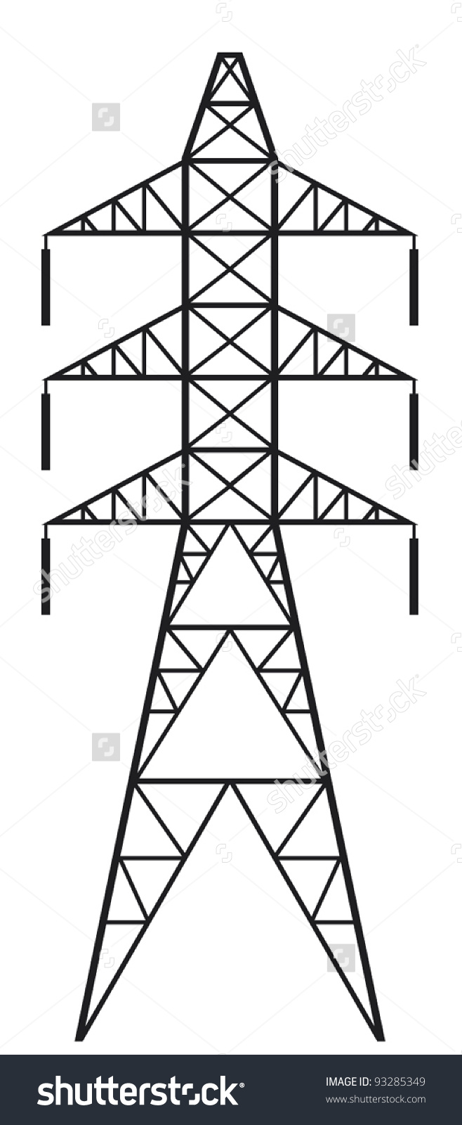 Electric Pylon Clipart Clipground
