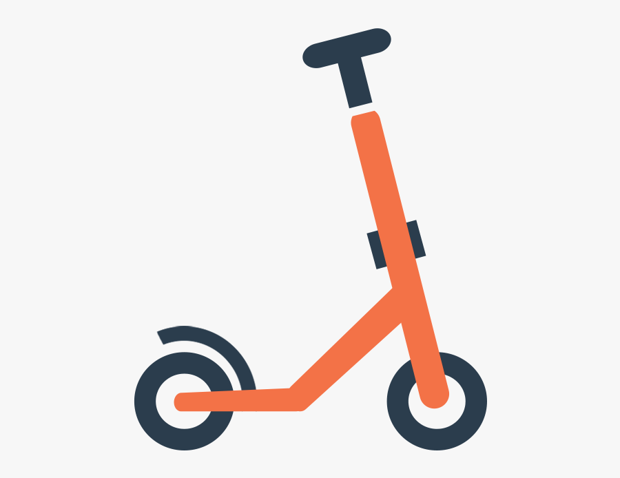 Electric Scooter Icon.
