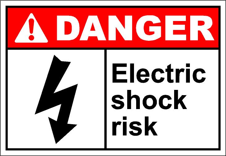 Electric shock clip art free.