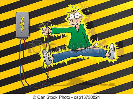 Electric shock Stock Illustration Images. 3,321 Electric shock.