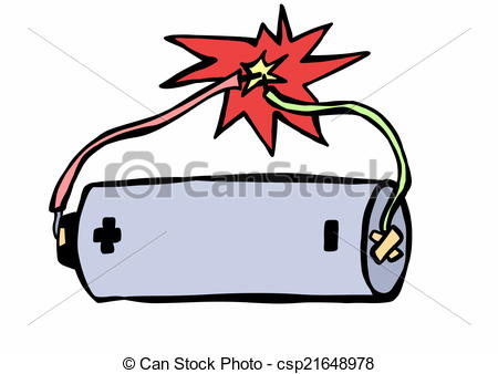 Stock Illustrations of doodle electric shock csp21648978.