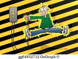 Electric Shock Clip Art.