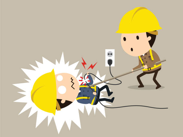 Best Electric Shock Illustrations, Royalty.