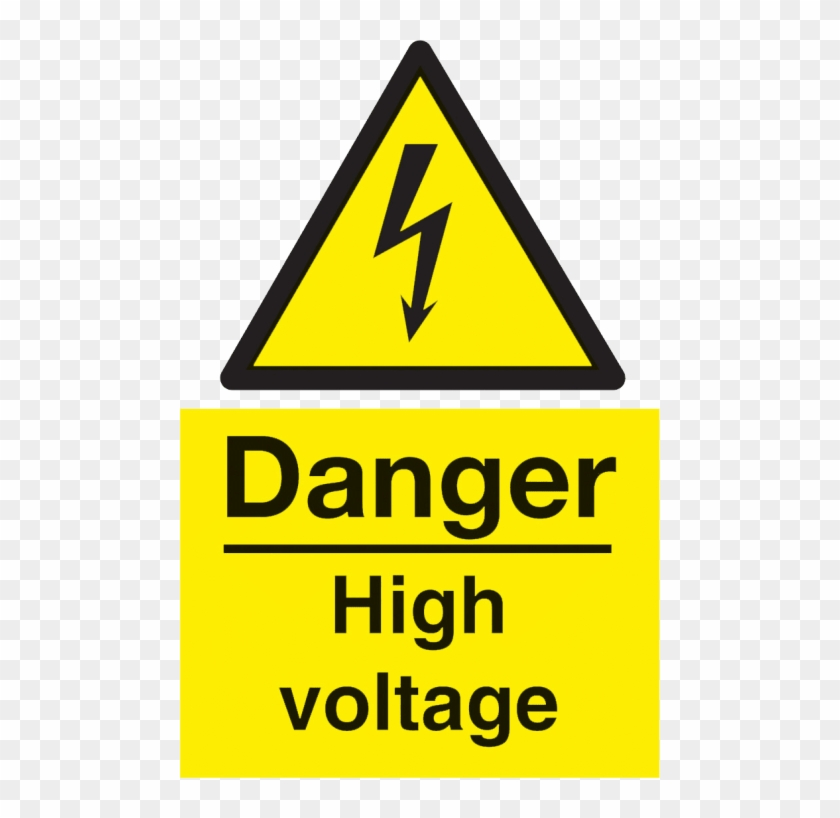Free Png Download Danger Electric Shock Risk Sign Png.