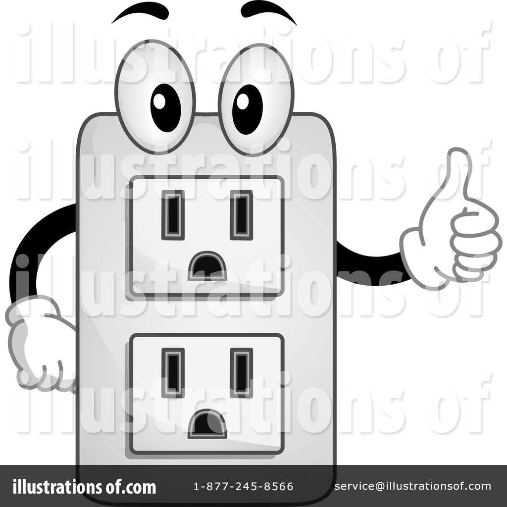 Electrical Socket Clipart #1145381.