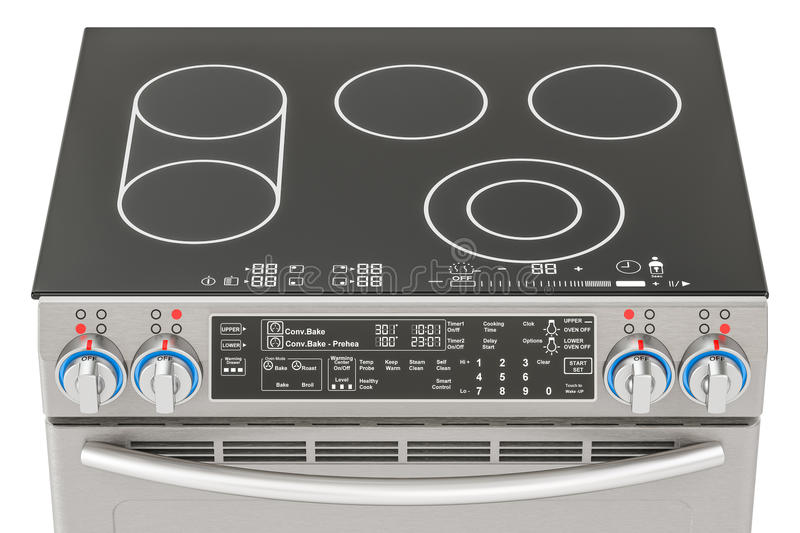 Electric Stove Stock Illustrations.