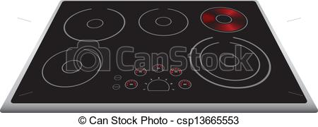 Electric stove Stock Illustration Images. 6,842 Electric stove.