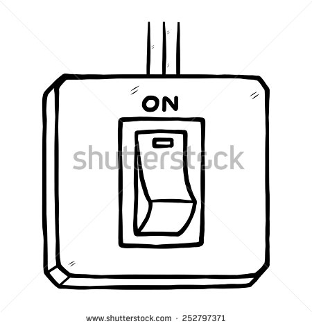 Clipart electrical switch.
