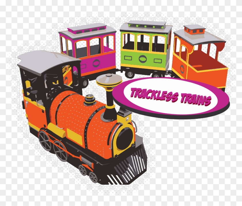 Electric Trackless Trains For Sale From Kid Steam.