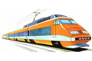 Electric train clipart 3 » Clipart Portal.