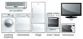 Appliance Clip Art, Vector Appliance.