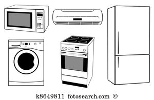 Electrical appliances Clip Art and Illustration. 6,211 electrical.