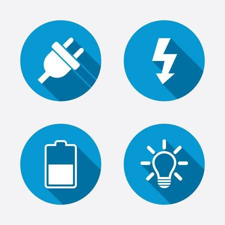 190,750 Electricity Icon Stock Illustrations, Cliparts And Royalty.
