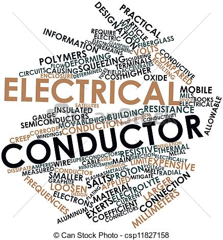 Stock Illustrations of Electrical conductor.