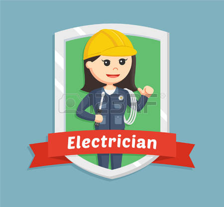 483 Electrical Contractor Stock Vector Illustration And Royalty.