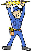Electrical Contractor Clipart.